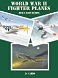 World War II Fighter Planes - 24 Art Cards (Card Books)