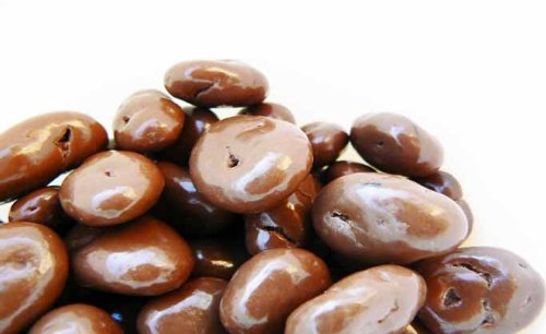 Milk Chocolate Covered Raisins 1 Pound Bag