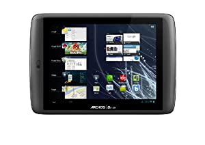 Archos 80 G9 Turbo 20,32 cm (8 Zoll) Tablet-PC (OMAP 4 Multi Core A 9, 1,2 GHz, 16GB SDD, WiFi-n, Multitouch, Android 4.0) schwarz