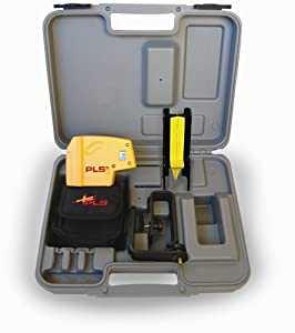 PLS Laser PLS-60541 PLS 5 Laser Level Tool, Yellow