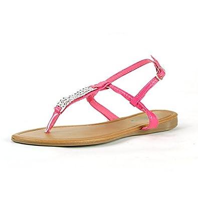 Foxy Women's Pink Gladiator Sandals 5 M U