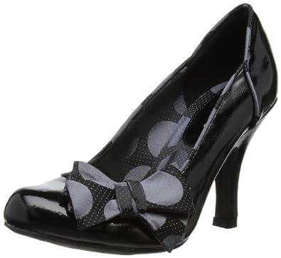 Ruby Shoo Women's Claudia Patent Court Shoes 08450 Black 6 UK, 39 EU