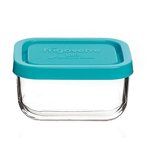 Contenitore per alimenti in vetro TEMPERATO conservare frigorifero freezer Bormioli Frigoverre System 26x21 c