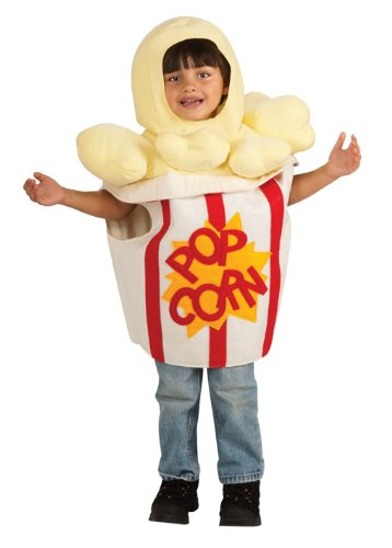 Rubie'S Costume Trick Or Treat Sweeties Going' To The Movies Popcorn Costume, White, Toddler front-505379