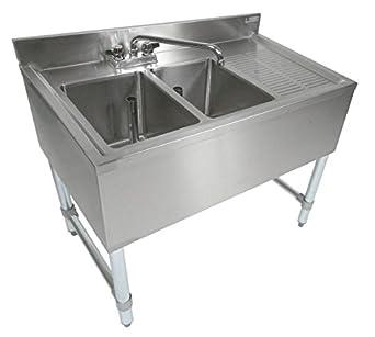 Amazon Com John Boos Eub2s36 1rd Stainless Steel Bar Sink