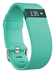 Fitbit Charge HR Fitness Tracker - Teal, Large