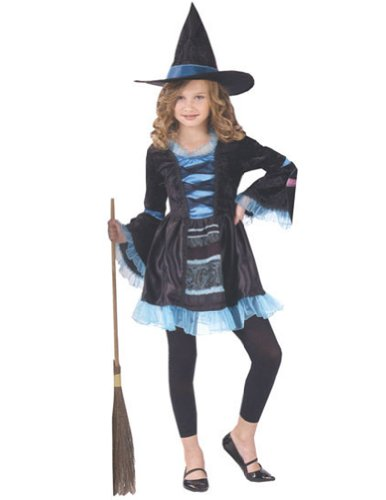 Victorian Witch Child 12-14 Kids Girls Costume