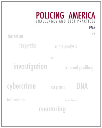 Policing America: Challenges and Best Practices (Careers...