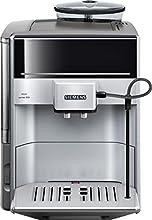 Siemens TE603501DE Kaffeevollautomat EQ.6 series 300 (15 bar, Direktanwahl durch Sensorfelder, oneTouch Function, Cappuccinatore ), silber