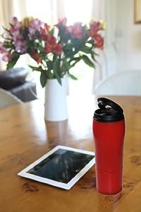 Mighty Mug Go - The Travel Mug That Won't Fall Over (0.47 Litre), Charcoal
