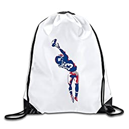 BOoottty Beckham Jr Giants Footballl Drawstring Backpack Bag