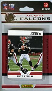 2012 Score Atlanta Falcons Factory Sealed 12 Card Team Set by SCORE