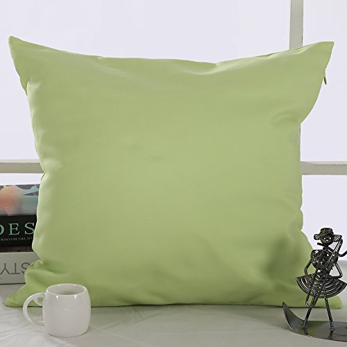 Deconovo microfiber decorative pillowcase cushion cover for Sofa cushion covers 24x24