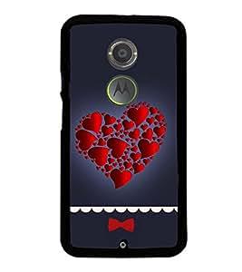 Hearts in Heart 2D Hard Polycarbonate Designer Back Case Cover for Motorola Moto X2 :: Motorola Moto X (2nd Gen) :: Motorola Moto X 2014 :: Motorola Moto X+1