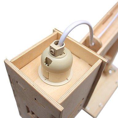 Braccio del robot a forma di bricolage legno lampada da for Bricolage legno