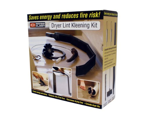 Range Kleen Dryer Vent Kleening Kit, 3-Piece set (Dryer Duct Cleaning Kit compare prices)