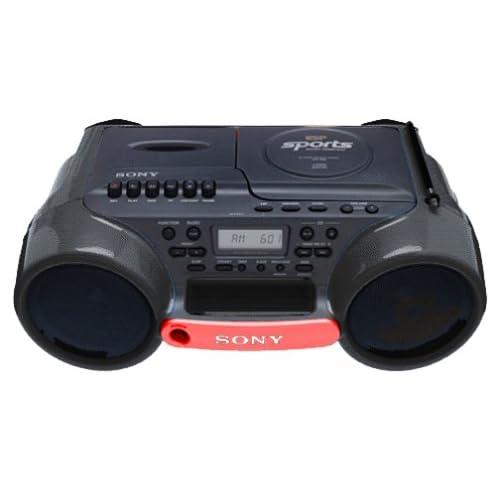Amazon.com : Sony CFD980 Sports Series Boombox (Black