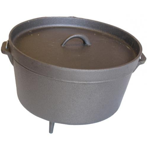 Buy Cajun Cookware Camp Pot W/ Legs – 9 Qt.