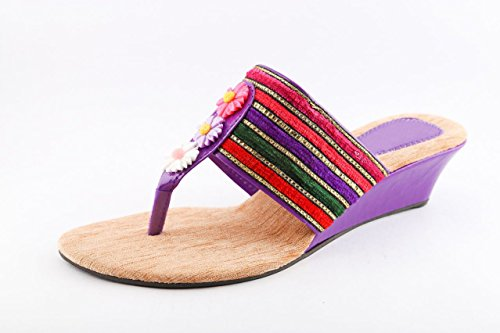 Cenizas Colorful Belt Wedges