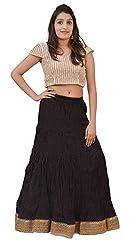 Carrol Long Skirt-Black