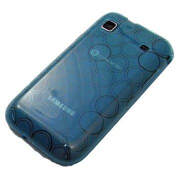 がうがう! docomo GALAXY S SC-02B / SAMSUNG GT-I9000 Clear Soft Case Circle Pattern, Clear Blue 「docomo GALAXY S SC-02B / SAMSUNG GT-I9000」専用 クリアソフトケース サークル・パターン, クリアー・ブルー SGSI9000-CVC-03
