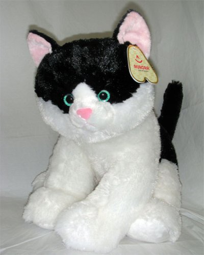 Buy Stuffed Tux Black and White Cat