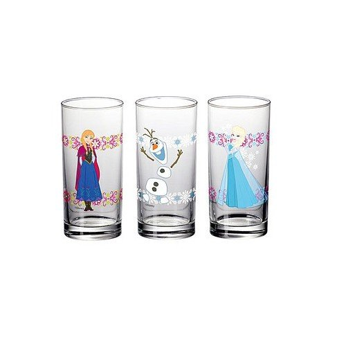 disney-frozen-3er-set-design-glaser-290ml-je-glas-mit-anna-elsa-und-olaf