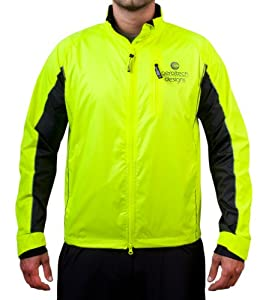 Tall Mens Reflective Cycling & Running Jacket by Aero Tech Designs
