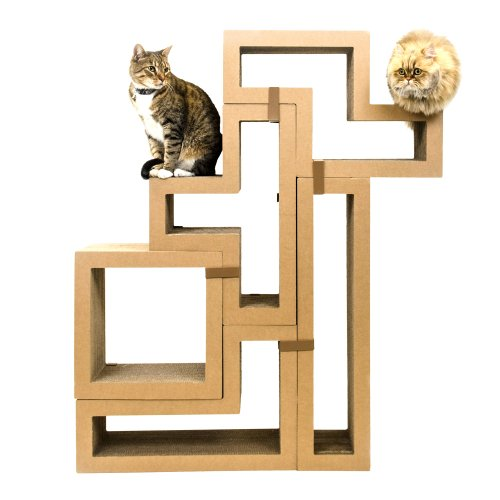 KATRIS Bundle of 5 Blocks | Modular | Multi-Functional | Cat Tree Condo Furniture System | Original Kraft