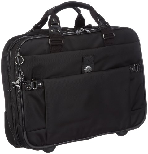 Kipling Unisex Adult Asween Business Trolley Neon Black K24569