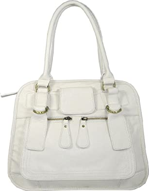 Ladies White Shoulder Bags 76