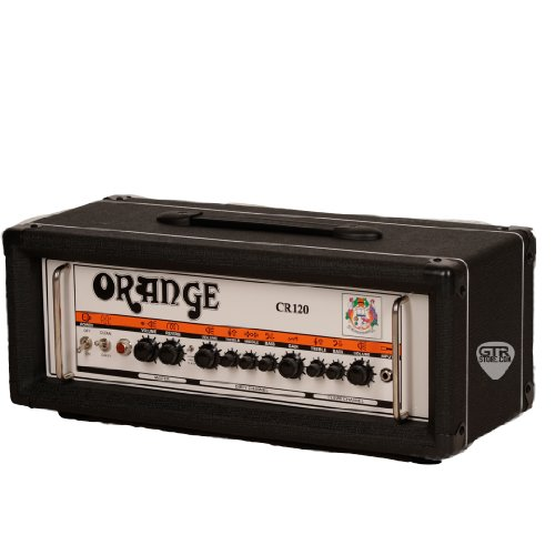 Orange Amplifiers Crush Pro CR120H 120W Guitar Amp Head Black (Amp Heads compare prices)