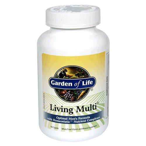 Garden of Life Living Multi Optimal Men's Formula, 180 Caplets