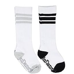 juDanzy knee high tube socks for boys, girls, baby, toddler & child (12-24 Months, Surprise Baby)