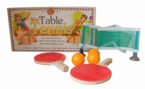 House Of Marbles Miniature Table Tennis Ping Pong Set For Kids Paddle, Ball And Net