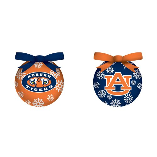 Auburn Boxed LED Ornament Set at Amazon.com