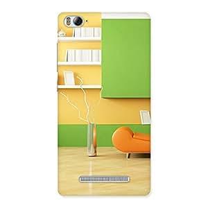 Pleasant Home Multicolor Back Case Cover for Xiaomi Mi4i