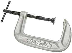 Columbian 41409 140 Series Carriage C-Clamp 0-8 Inch Capacity 4 Inch Throat Depth