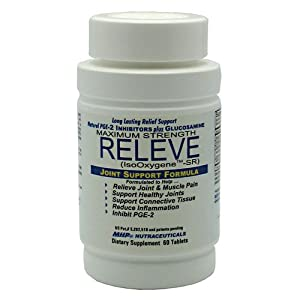 MHP Releve, All Day Joint Relief, 60 Tablets