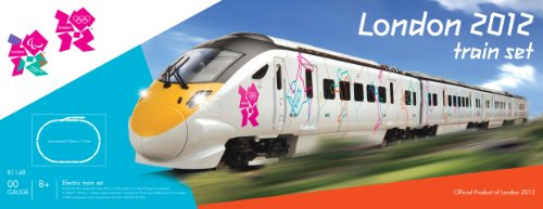 Hornby R1148 London 2012 Olympics Express OO Gauge Electric Train Set