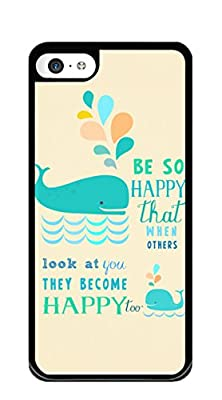 iPhone 5C Case Customized Design PC Hard Case Cover for iphone 5c - Black from Beir