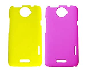 2 Pieces Winsome Deal Exclusive Hard Back Cover Case for HTC One X