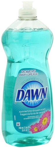 Dawn Non-Ultra Summertime Showers Dishwashing Liquid 25 Fluid Ounce (Pack of 5) (Dawn Dish Soap 25 Oz compare prices)