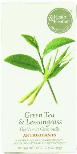 Heath & Heather Antioxidant Green Tea & Lemongrass, 20 Tea Bags