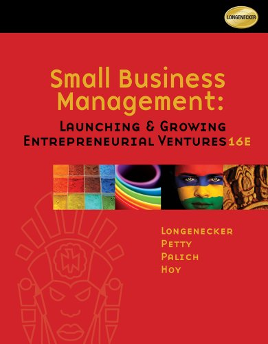 Small Business Management: Launching and Growing
