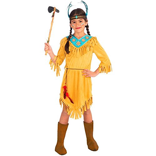 Little Flower Native American Child Costume, Large, Large One Color