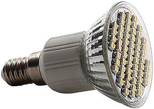 E14 3528 SMD 60-LED Warm White 150-180LM Light Bulb 230V 3-35W