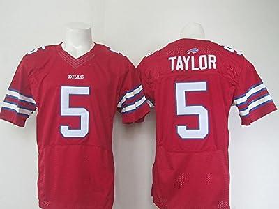 Buffalo Mens Bills Football Jersey #5 Tyrod Taylor