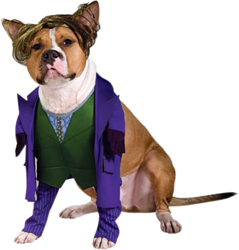 Pet Batman Joker Dog Costume For Large Dogs