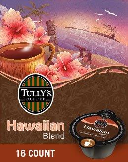 Tully'S Hawaiian Blend Coffee Keurig Vue Portion Packs, 32 Count